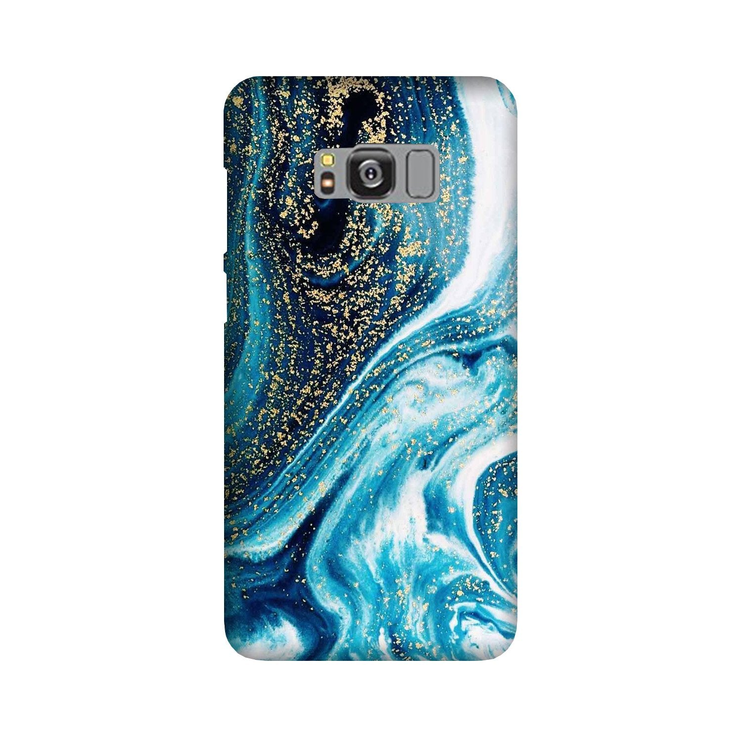 Marble Texture Mobile Back Case for Galaxy S8 Plus  (Design - 308)