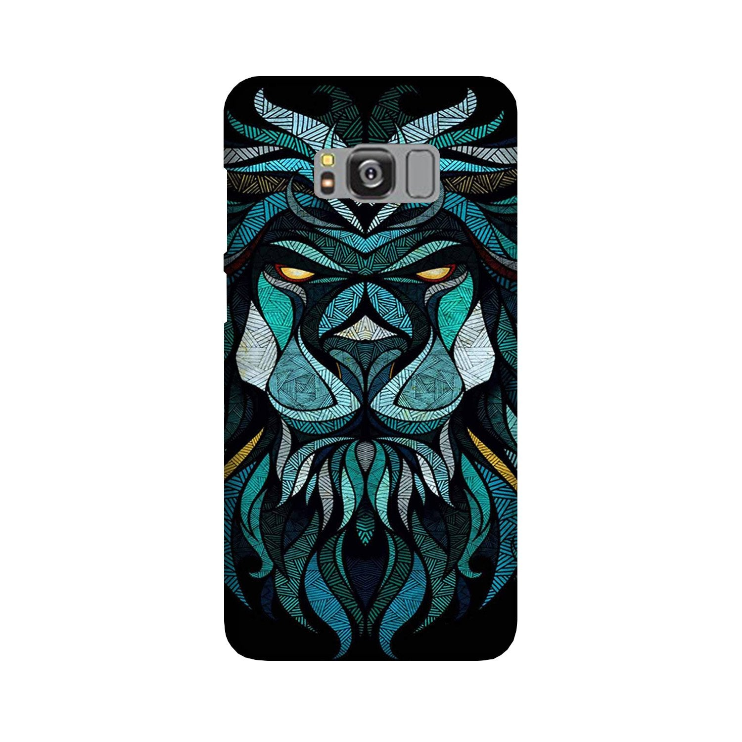 Lion Mobile Back Case for Galaxy S8 Plus  (Design - 314)