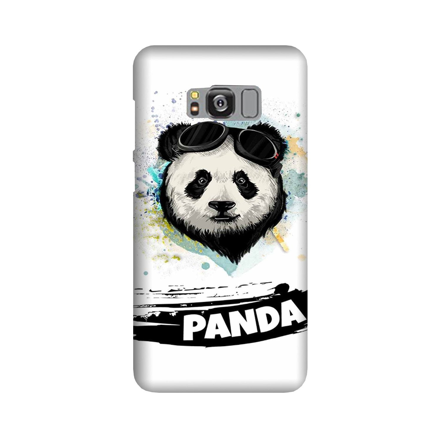 Panda Mobile Back Case for Galaxy S8 Plus  (Design - 319)
