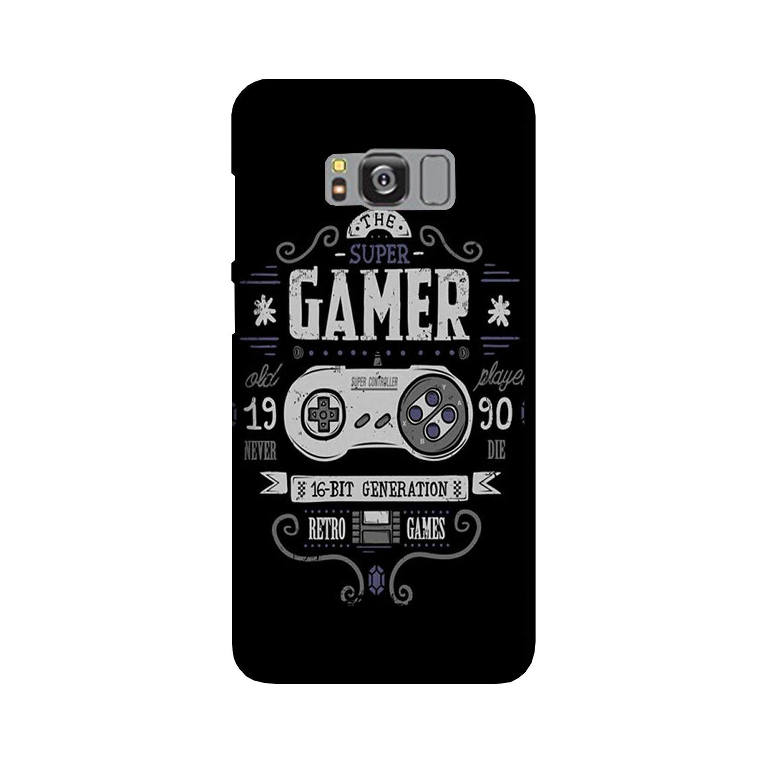 Gamer Mobile Back Case for Galaxy S8 Plus  (Design - 330)