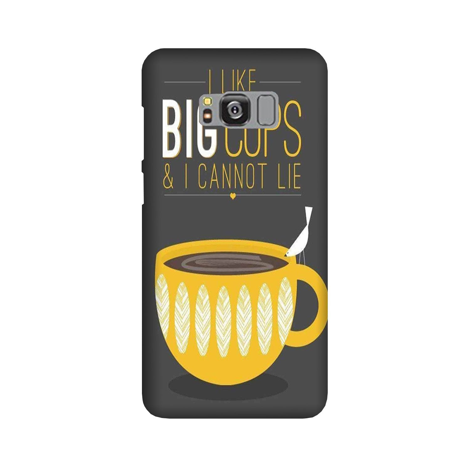 Big Cups Coffee Mobile Back Case for Galaxy S8 Plus  (Design - 352)