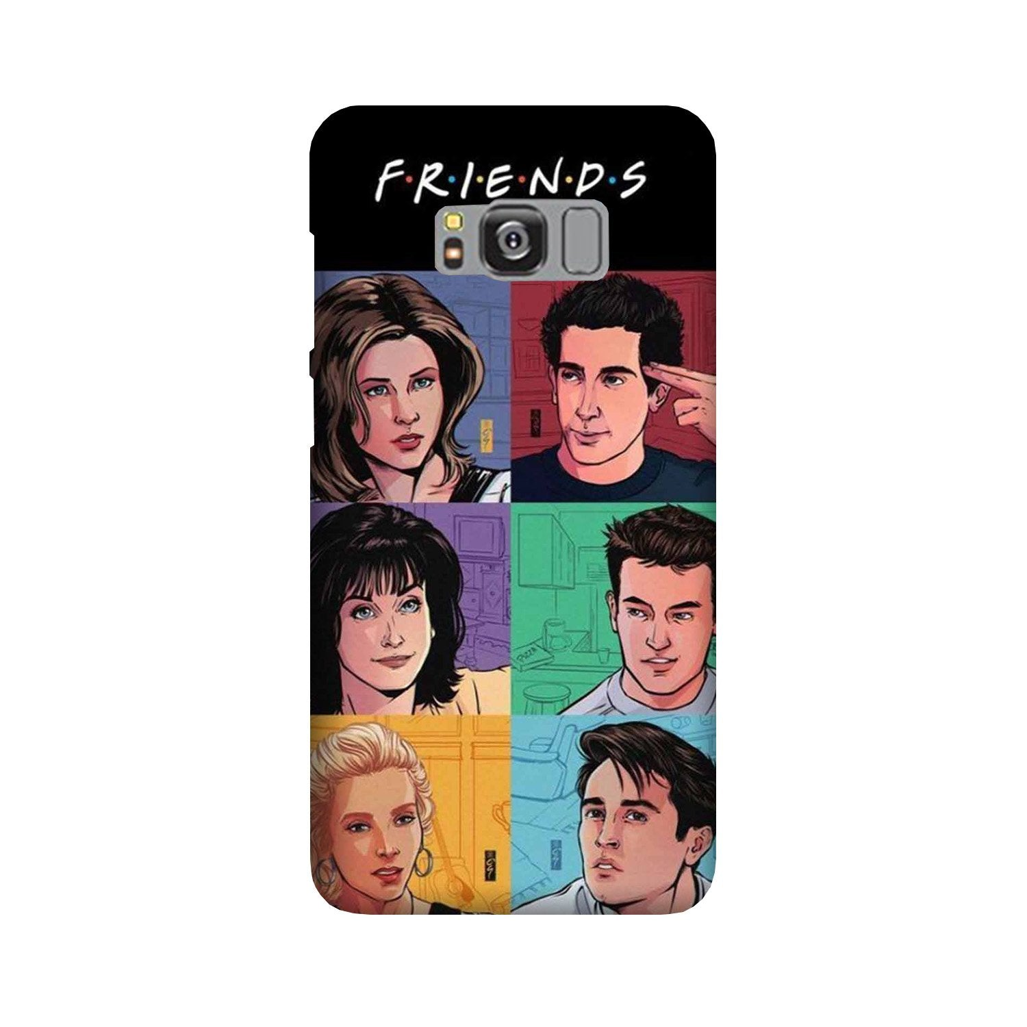 Friends Mobile Back Case for Galaxy S8  (Design - 357)