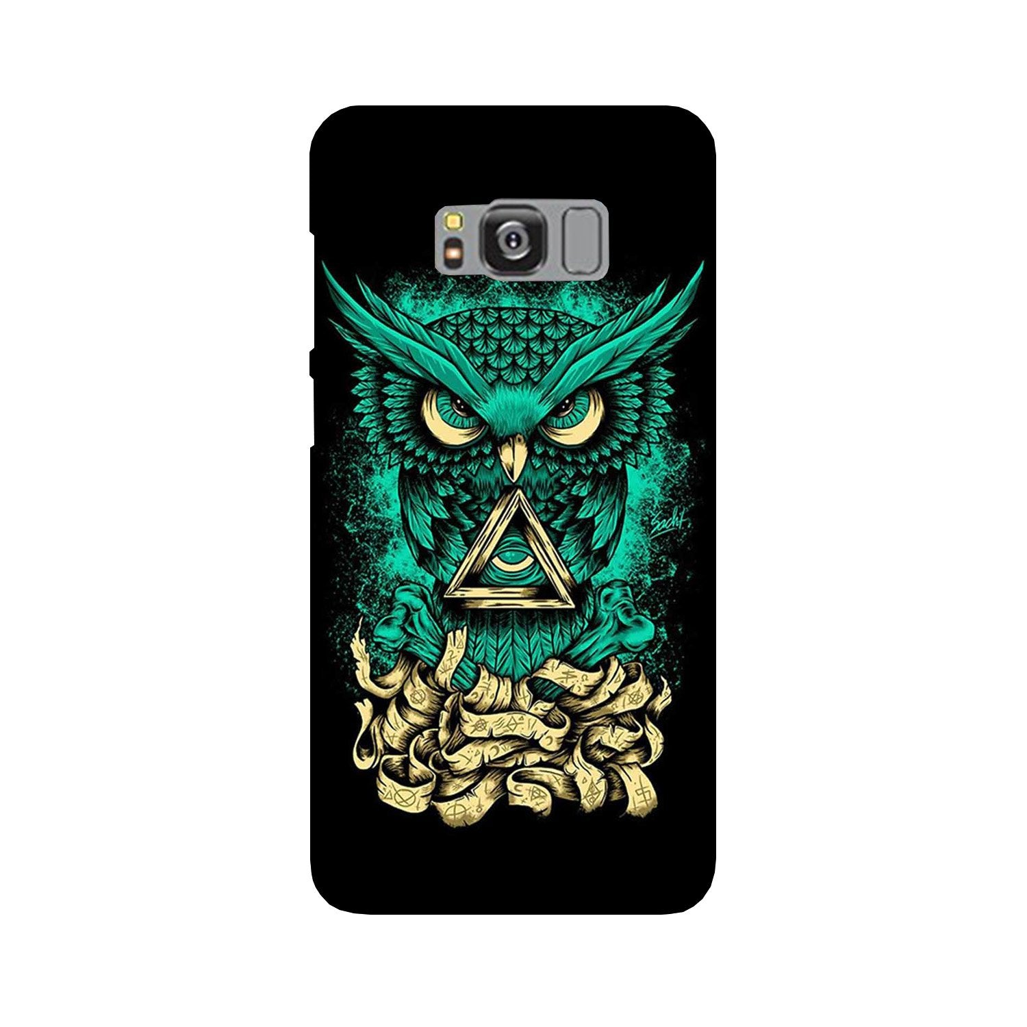 Owl Mobile Back Case for Galaxy S8  (Design - 358)