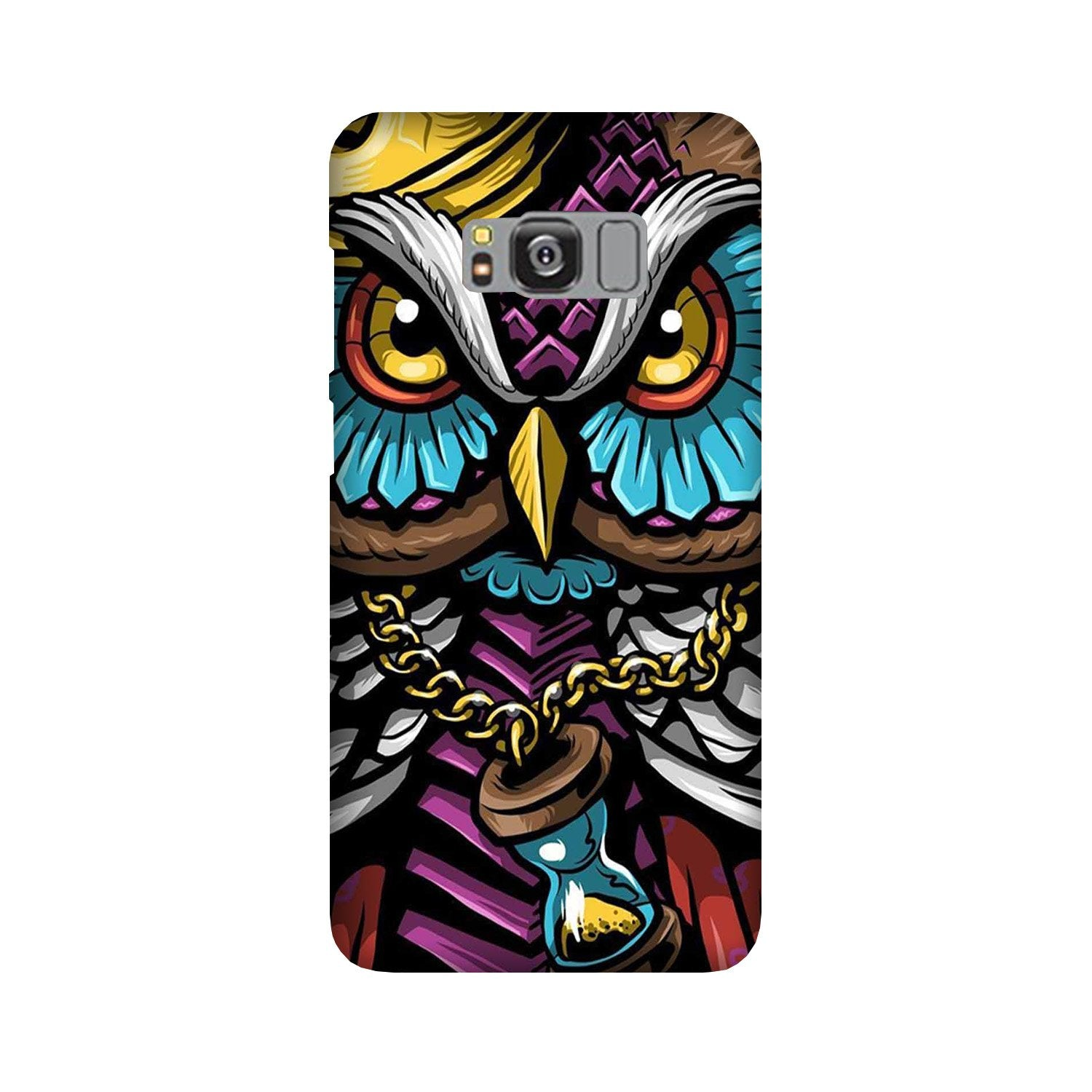 Owl Mobile Back Case for Galaxy S8  (Design - 359)