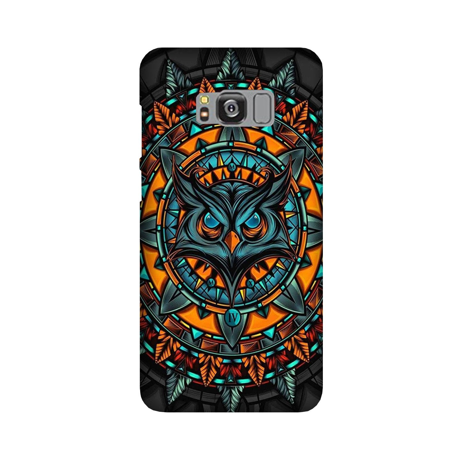 Owl Mobile Back Case for Galaxy S8  (Design - 360)