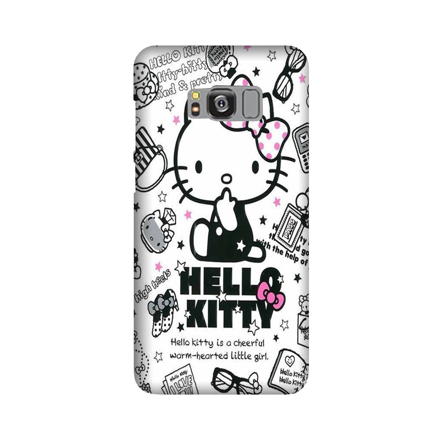 Hello Kitty Mobile Back Case for Galaxy S8 Plus  (Design - 361)