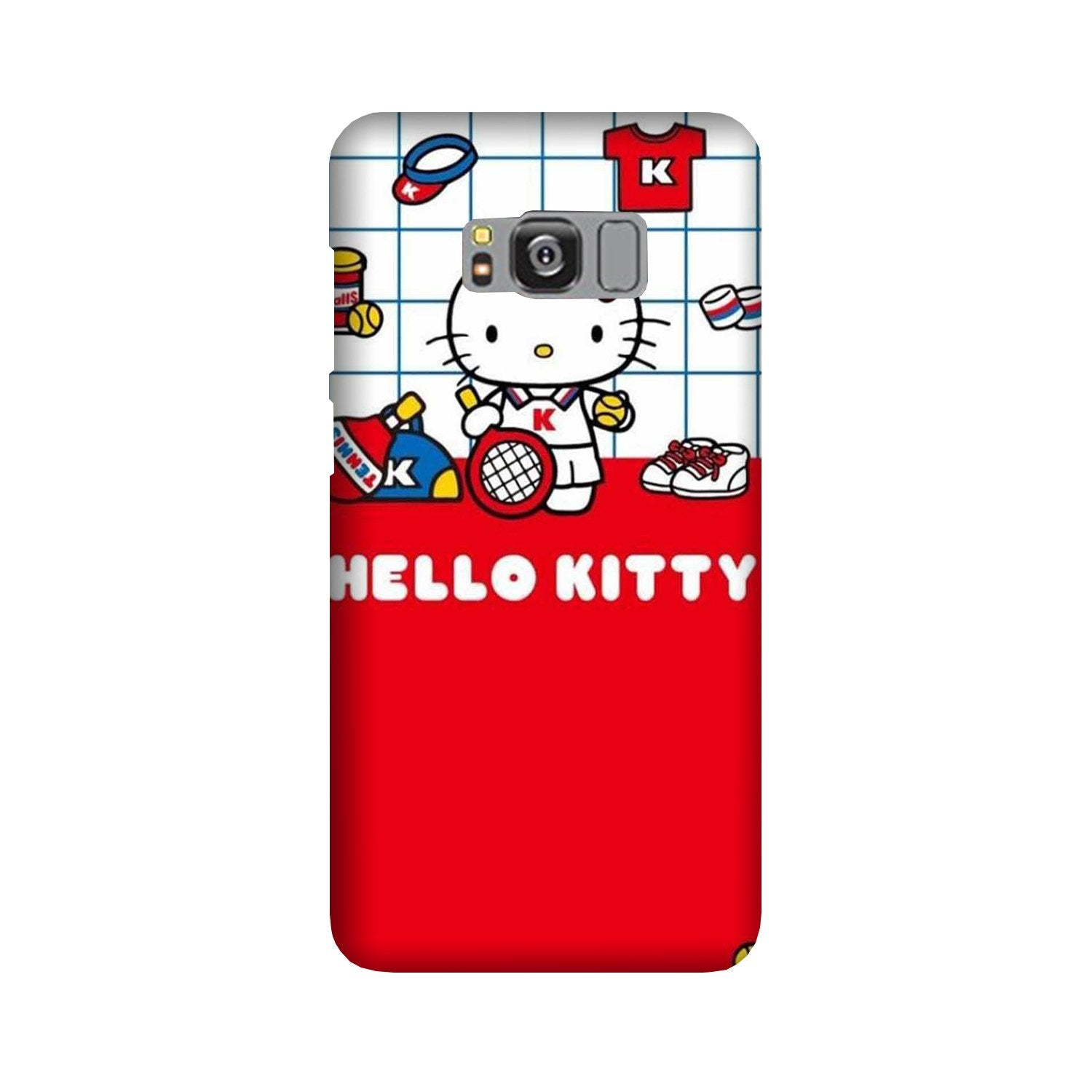 Hello Kitty Mobile Back Case for Galaxy S8  (Design - 363)
