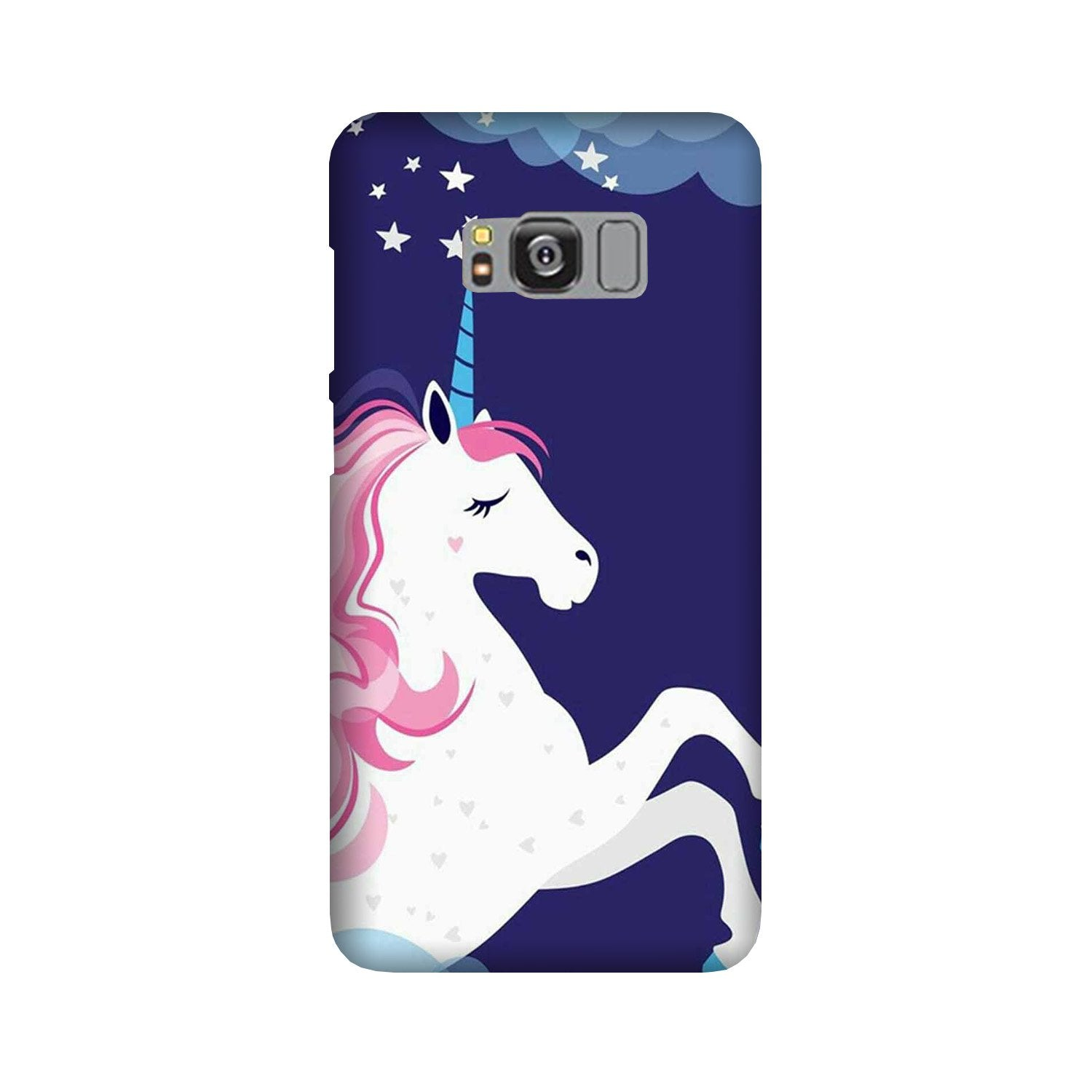 Unicorn Mobile Back Case for Galaxy S8 Plus  (Design - 365)