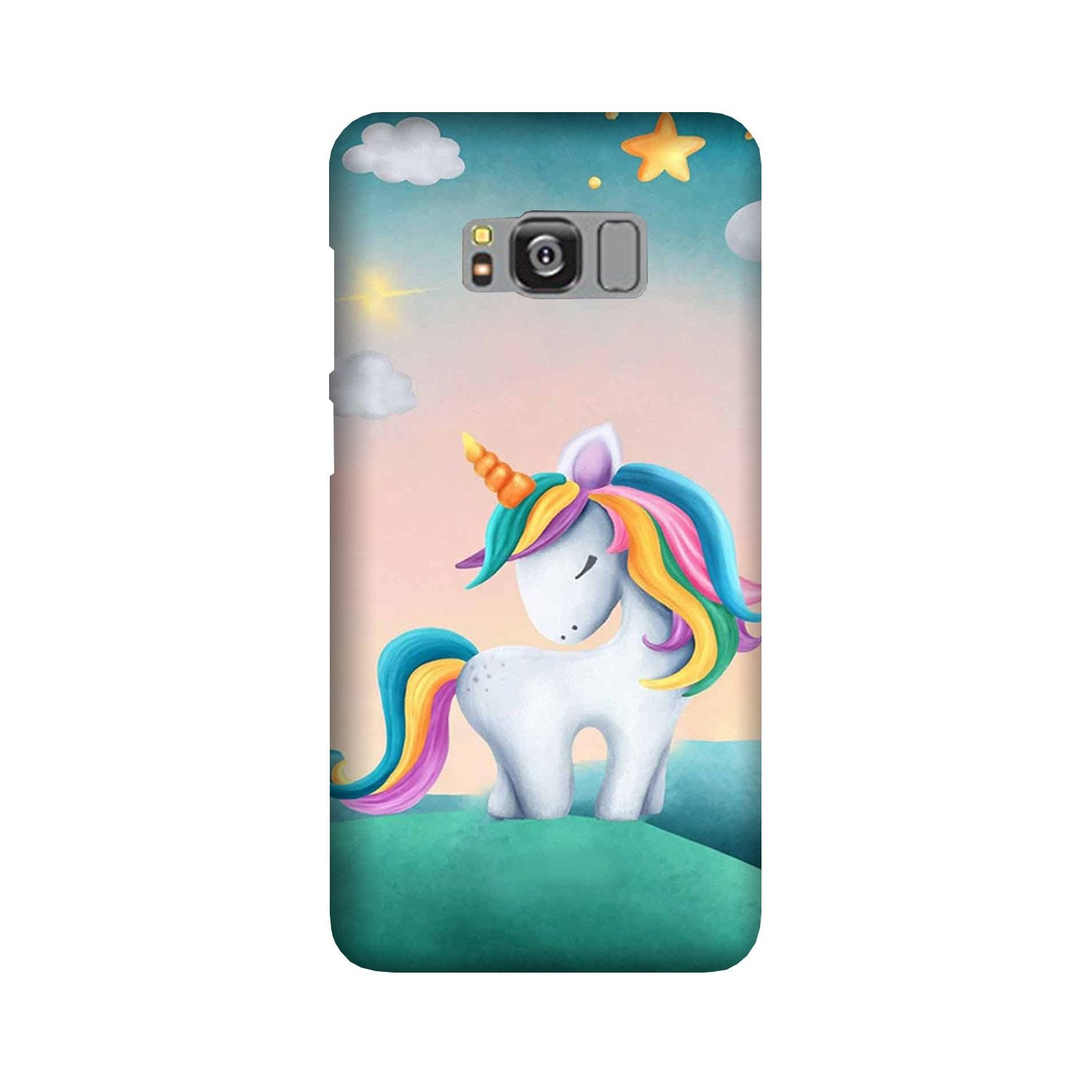 Unicorn Mobile Back Case for Galaxy S8  (Design - 366)