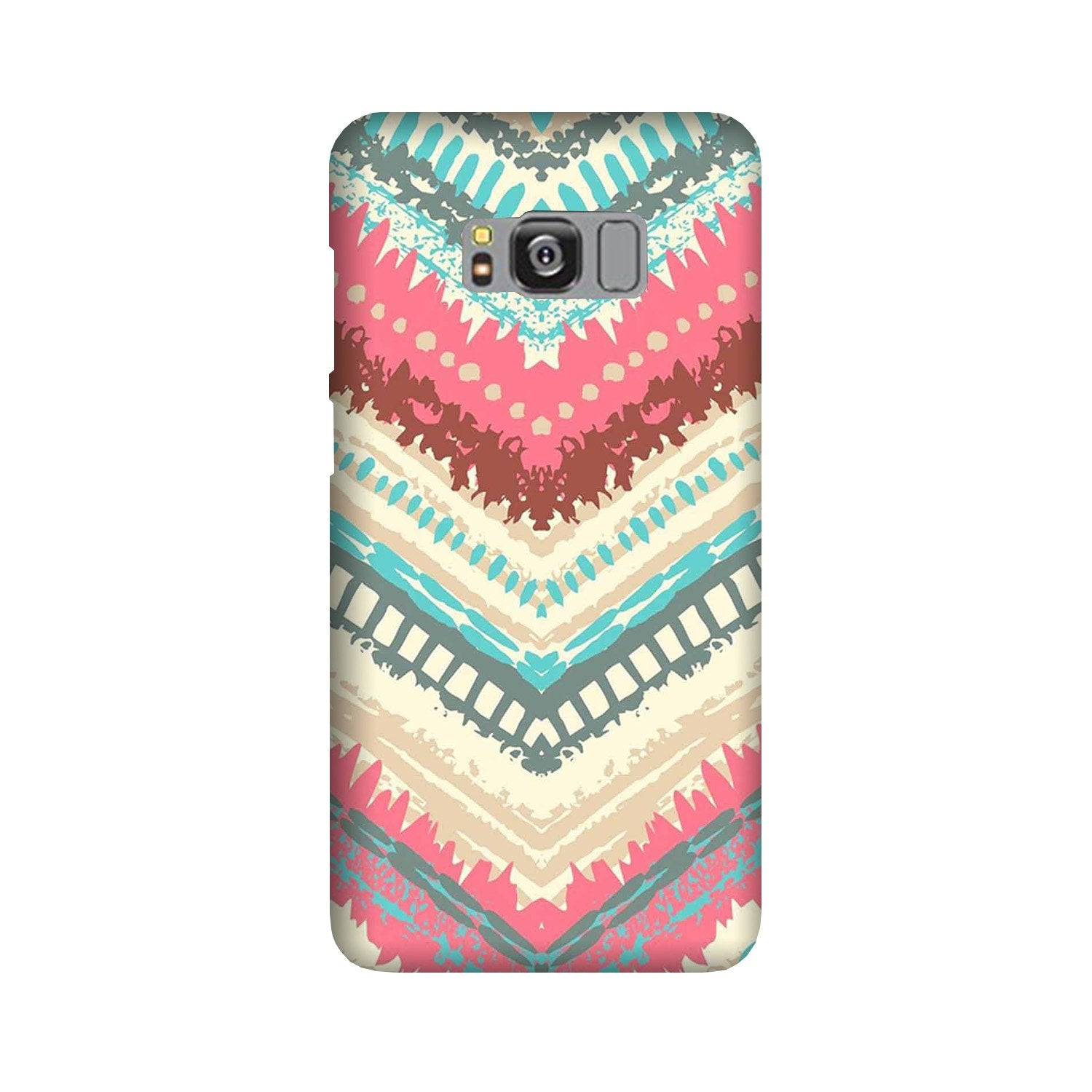 Pattern Mobile Back Case for Galaxy S8  (Design - 368)