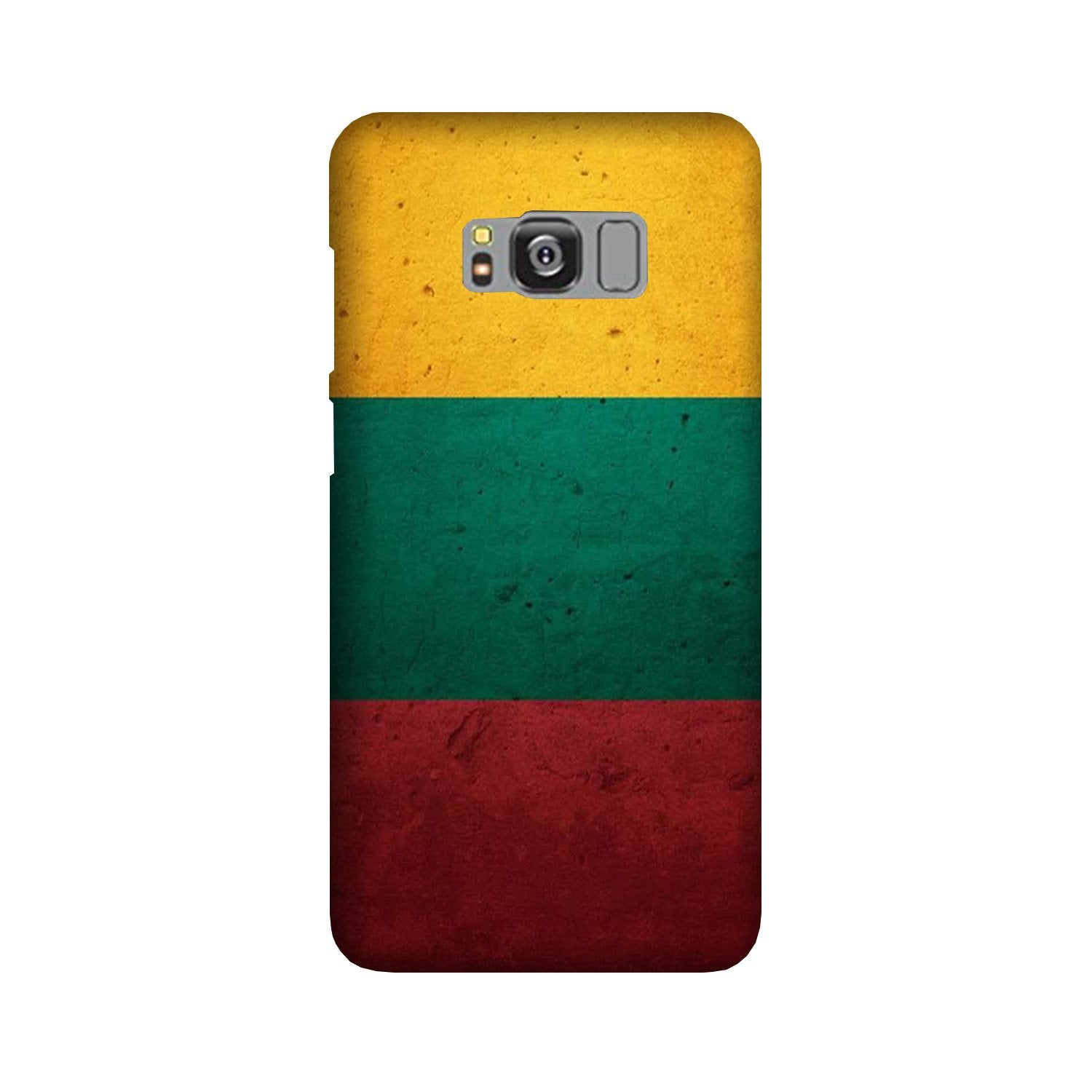 Color Pattern Mobile Back Case for Galaxy S8 Plus  (Design - 374)