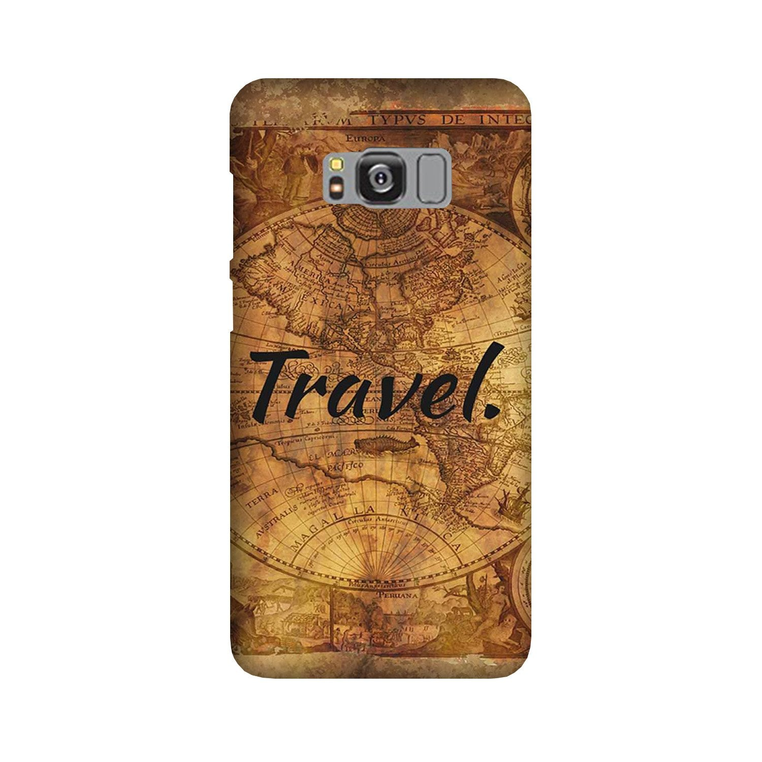 Travel Mobile Back Case for Galaxy S8  (Design - 375)