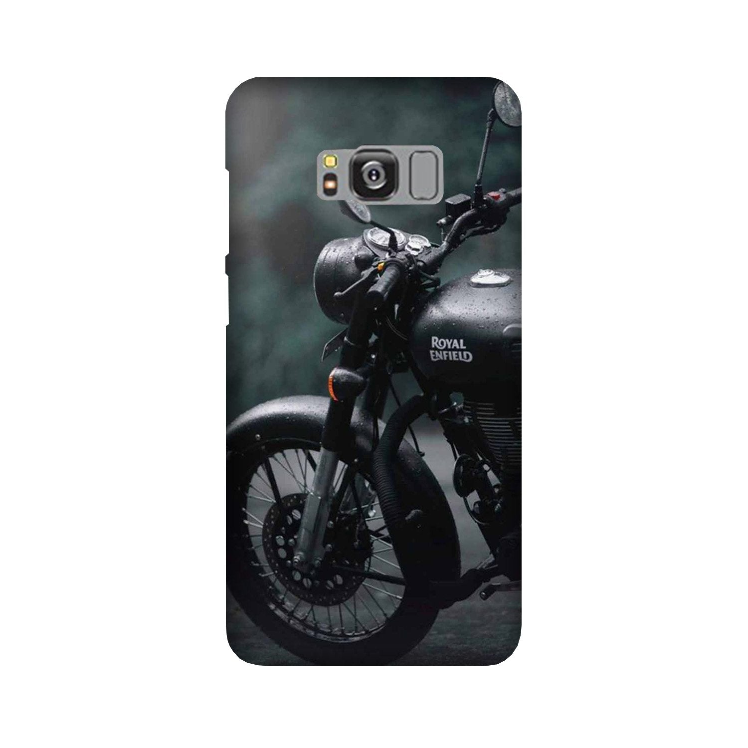 Royal Enfield Mobile Back Case for Galaxy S8 Plus  (Design - 380)