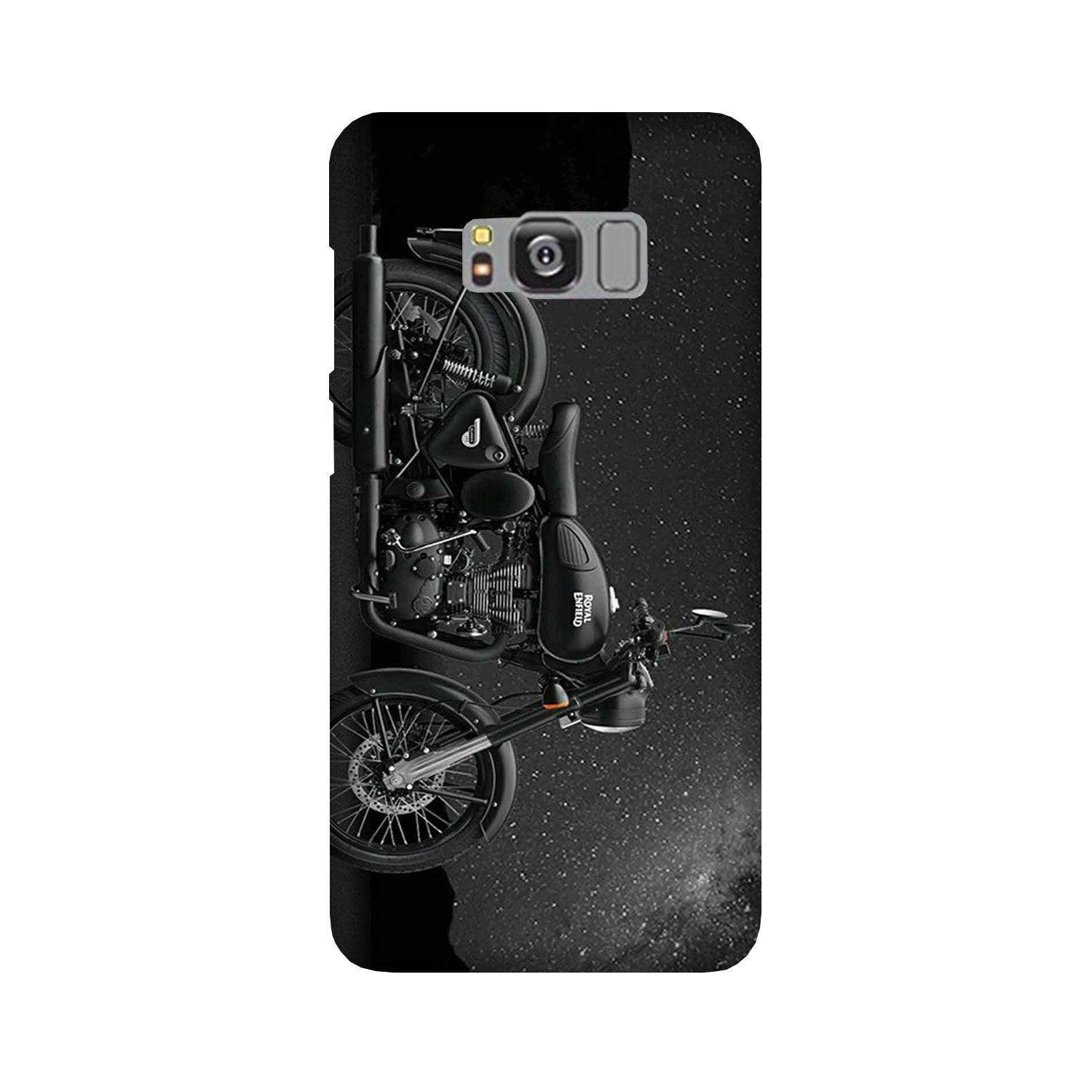 Royal Enfield Mobile Back Case for Galaxy S8 Plus  (Design - 381)
