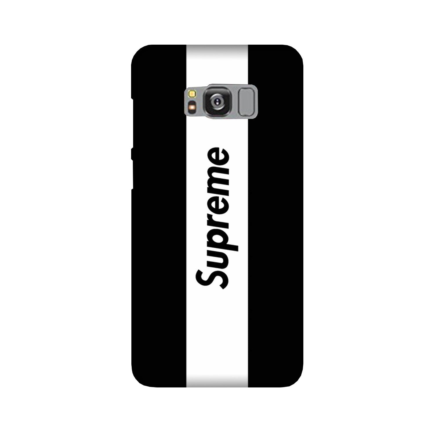 Supreme Mobile Back Case for Galaxy S8  (Design - 388)