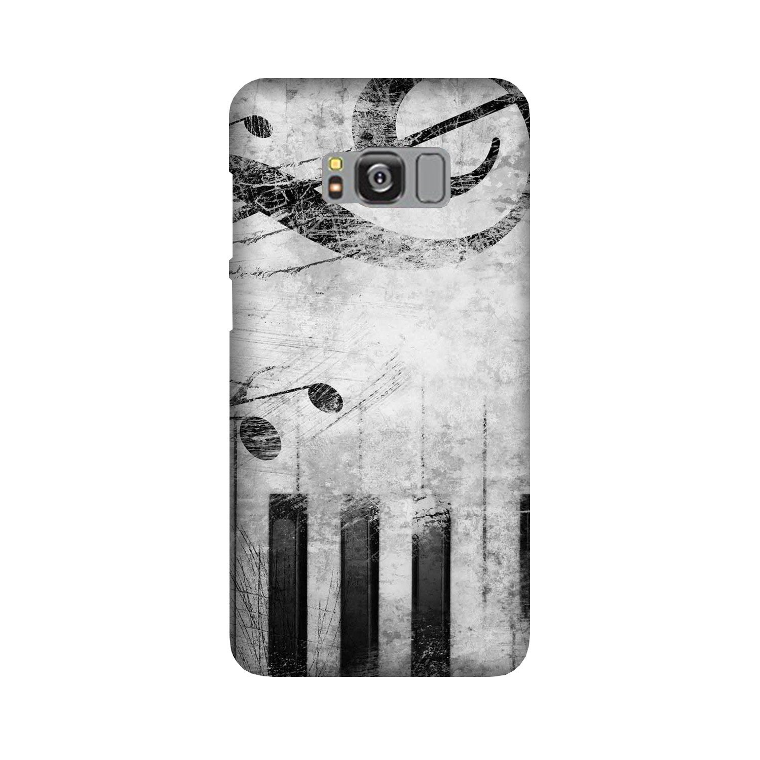 Music Mobile Back Case for Galaxy S8  (Design - 394)