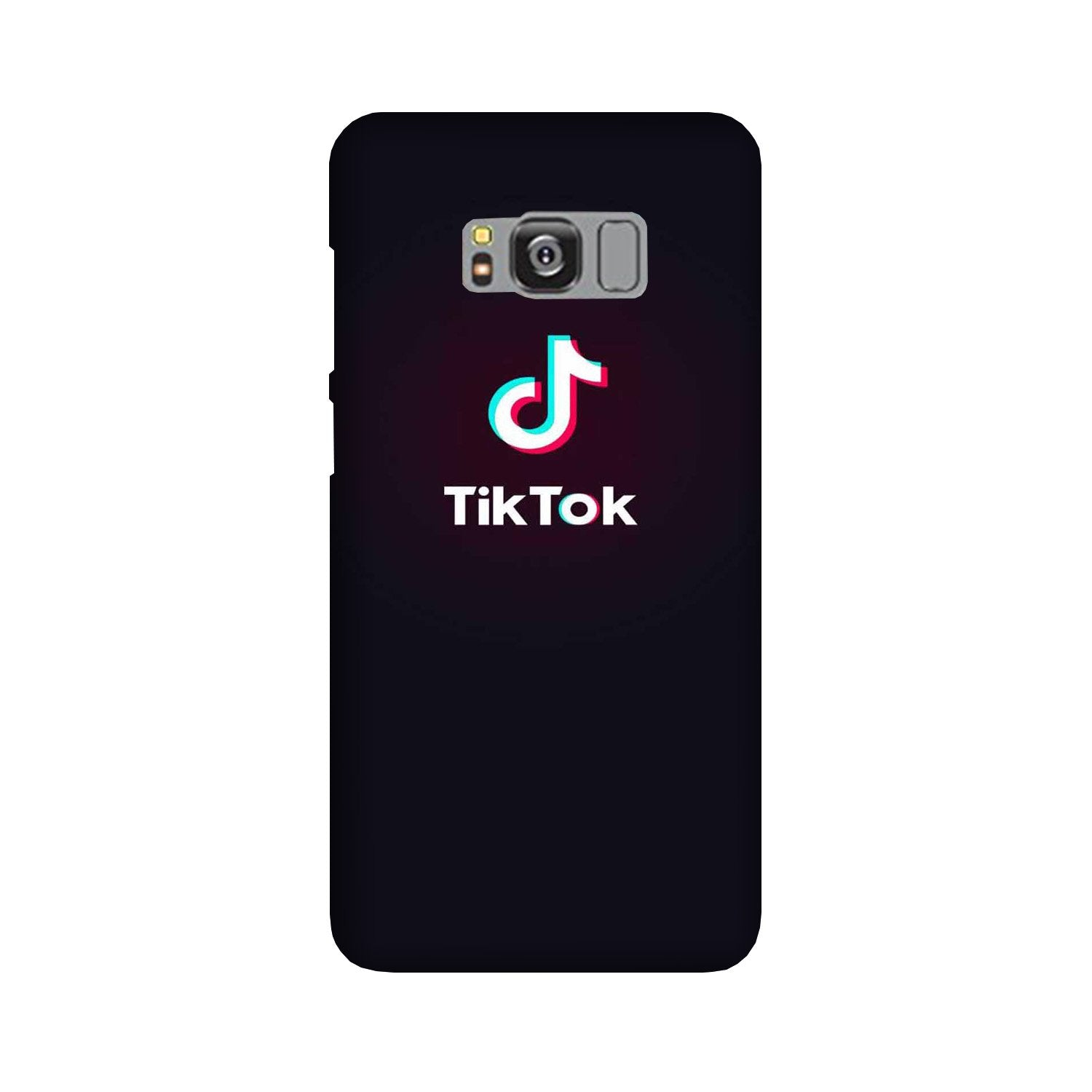 Tiktok Mobile Back Case for Galaxy S8  (Design - 396)