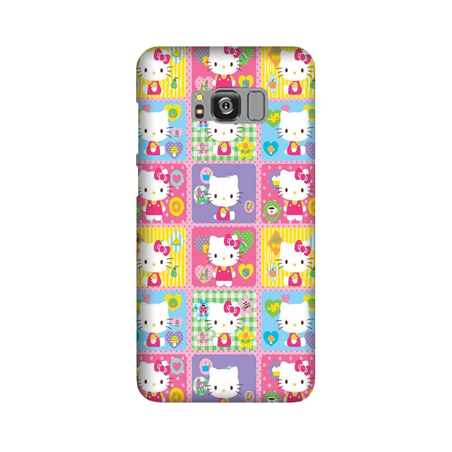 Kitty Mobile Back Case for Galaxy S8  (Design - 400)