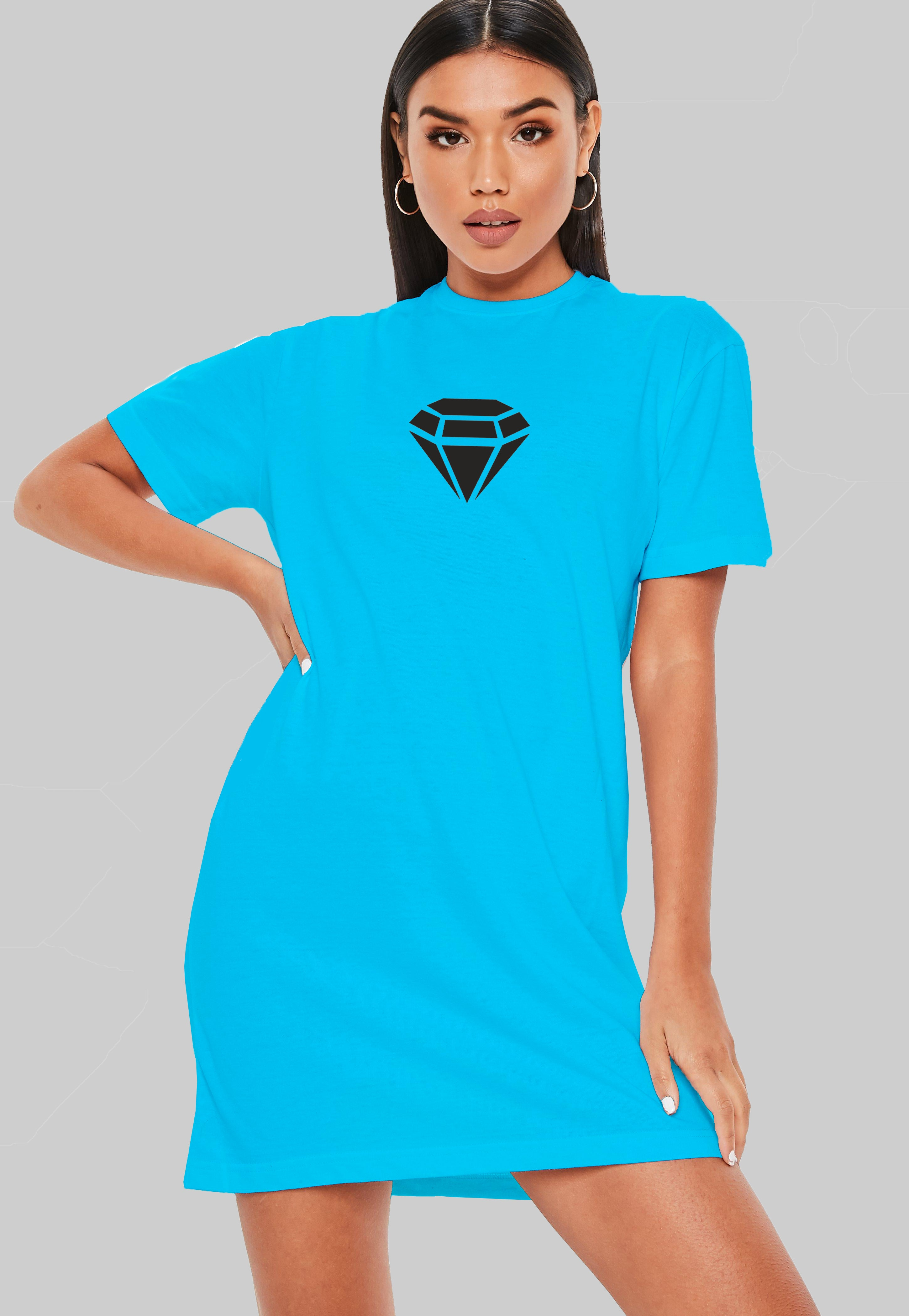 Diamond T-Shirt Dress