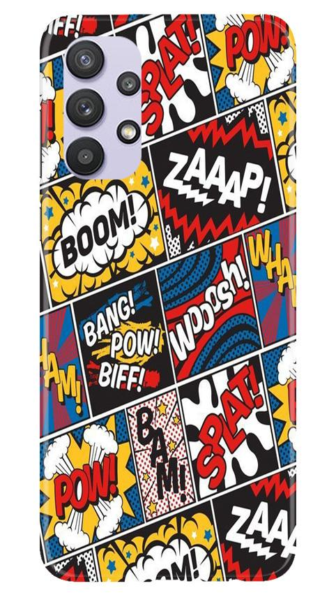 Boom Mobile Back Case for Samsung Galaxy A32 (Design - 302)