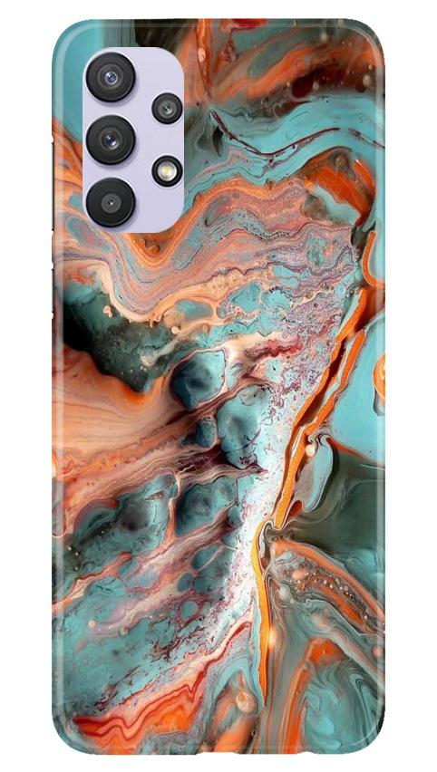Marble Texture Mobile Back Case for Samsung Galaxy A32 (Design - 309)