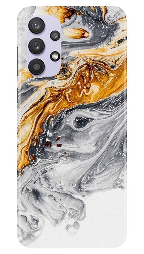 Marble Texture Mobile Back Case for Samsung Galaxy A32 (Design - 310)