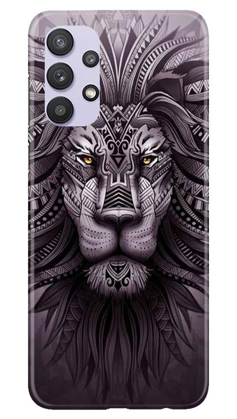 Lion Mobile Back Case for Samsung Galaxy A32 (Design - 315)