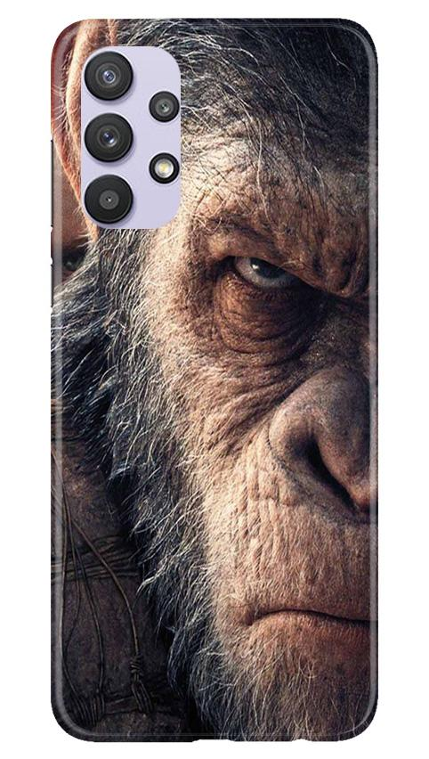 Angry Ape Mobile Back Case for Samsung Galaxy A32 (Design - 316)