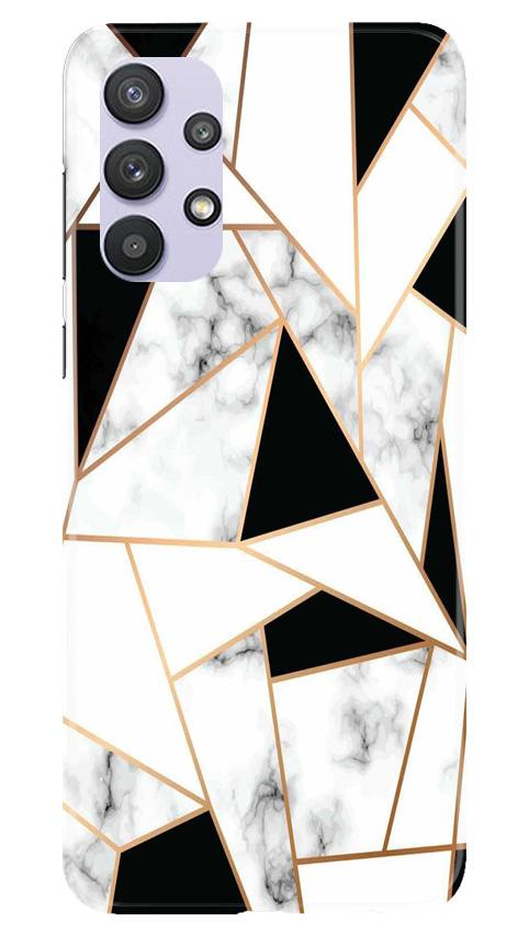 Marble Texture Mobile Back Case for Samsung Galaxy A32 (Design - 322)