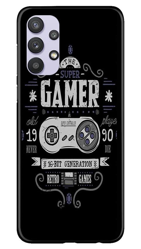 Gamer Mobile Back Case for Samsung Galaxy A32 (Design - 330)