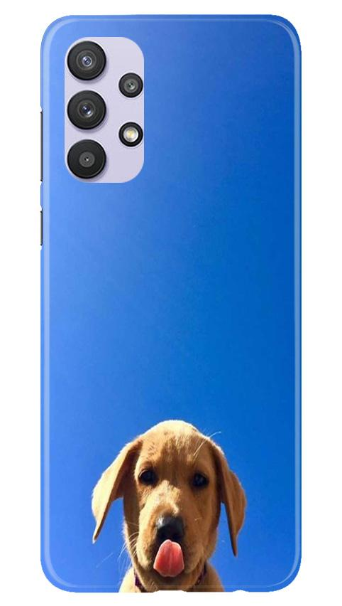 Dog Mobile Back Case for Samsung Galaxy A32 (Design - 332)