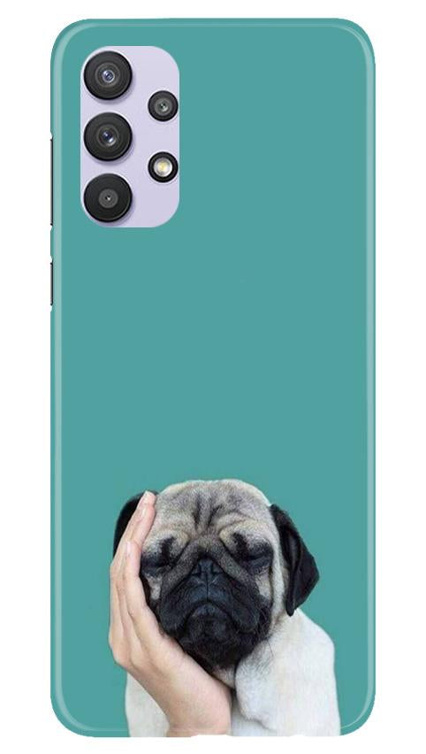 Puppy Mobile Back Case for Samsung Galaxy A32 (Design - 333)
