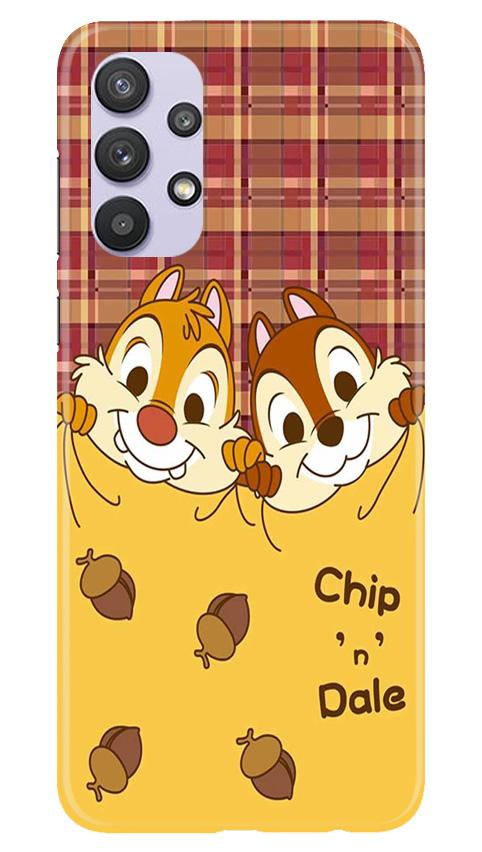 Chip n Dale Mobile Back Case for Samsung Galaxy A32 (Design - 342)