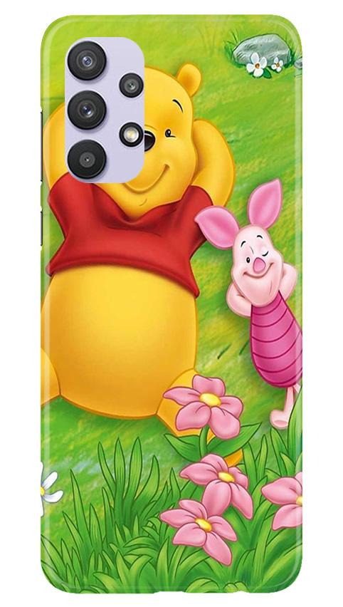Winnie The Pooh Mobile Back Case for Samsung Galaxy A32 (Design - 348)