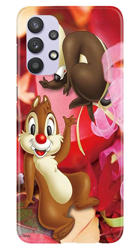 Chip n Dale Mobile Back Case for Samsung Galaxy A32 (Design - 349)