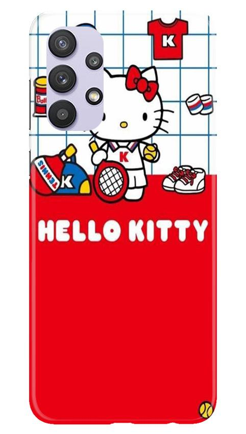 Hello Kitty Mobile Back Case for Samsung Galaxy A32 (Design - 363)