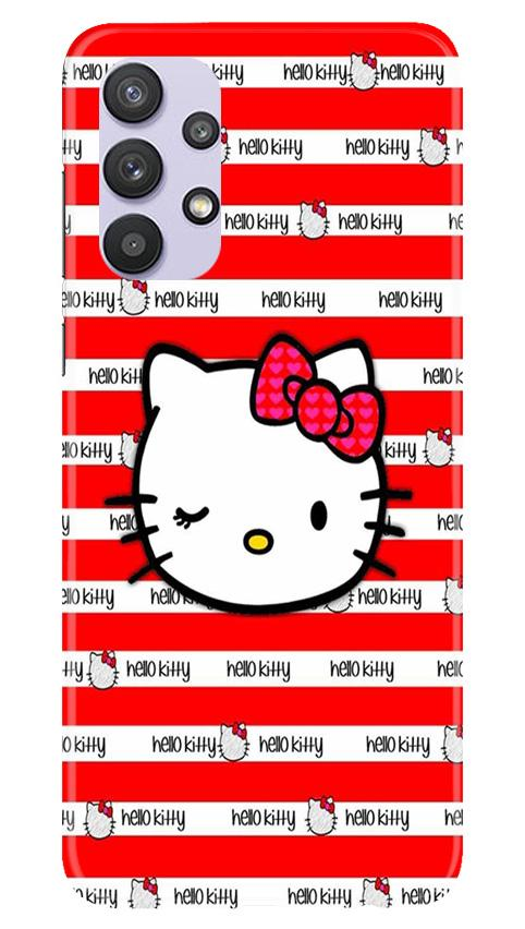 Hello Kitty Mobile Back Case for Samsung Galaxy A32 (Design - 364)