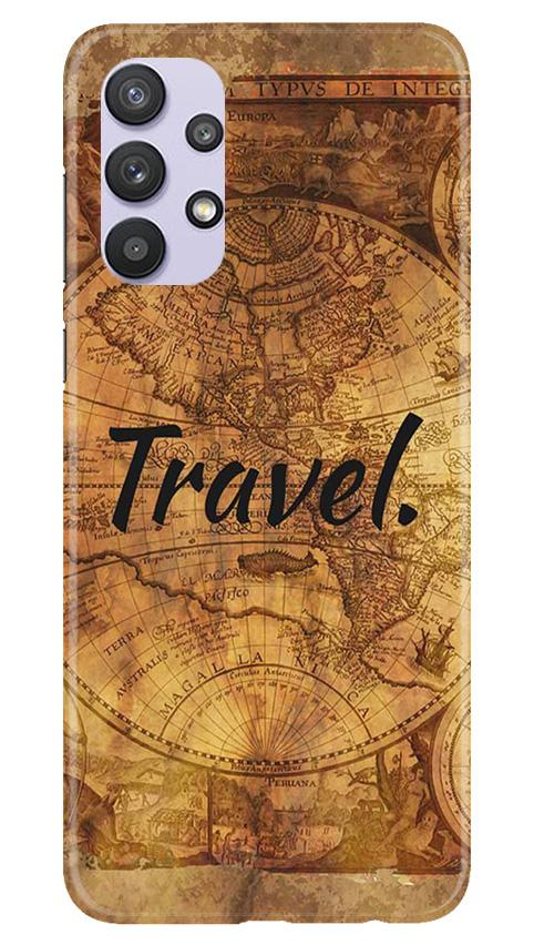 Travel Mobile Back Case for Samsung Galaxy A32 (Design - 375)