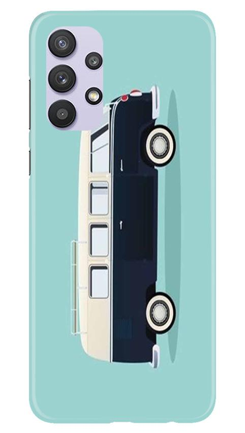 Travel Bus Mobile Back Case for Samsung Galaxy A32 (Design - 379)
