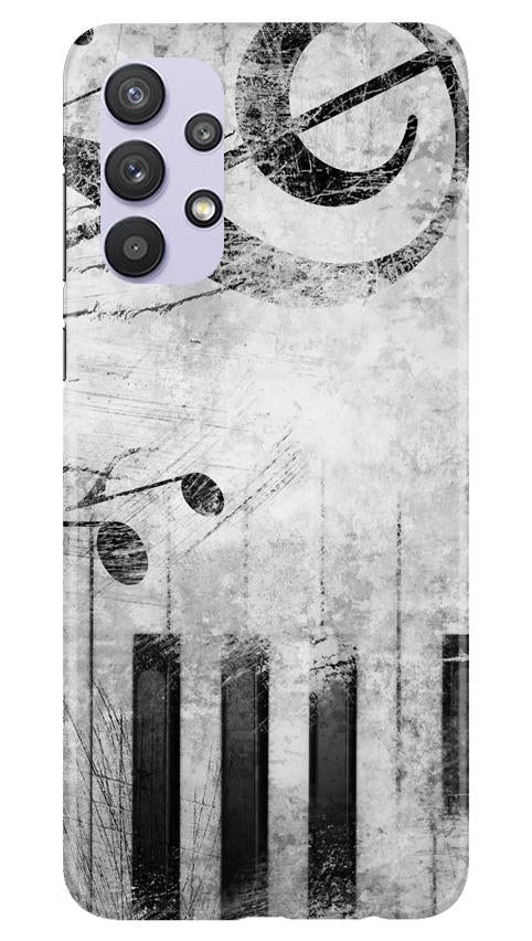 Music Mobile Back Case for Samsung Galaxy A32 (Design - 394)