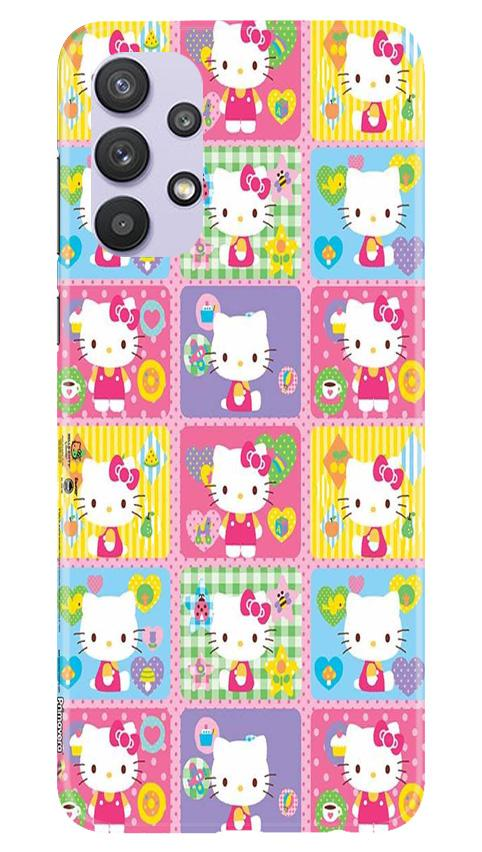 Kitty Mobile Back Case for Samsung Galaxy A32 (Design - 400)