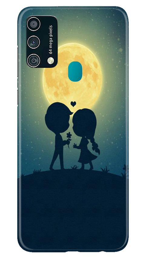 Love Couple Case for Samsung Galaxy F41  (Design - 109)
