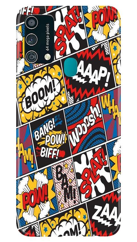 Boom Mobile Back Case for Samsung Galaxy F41 (Design - 302)
