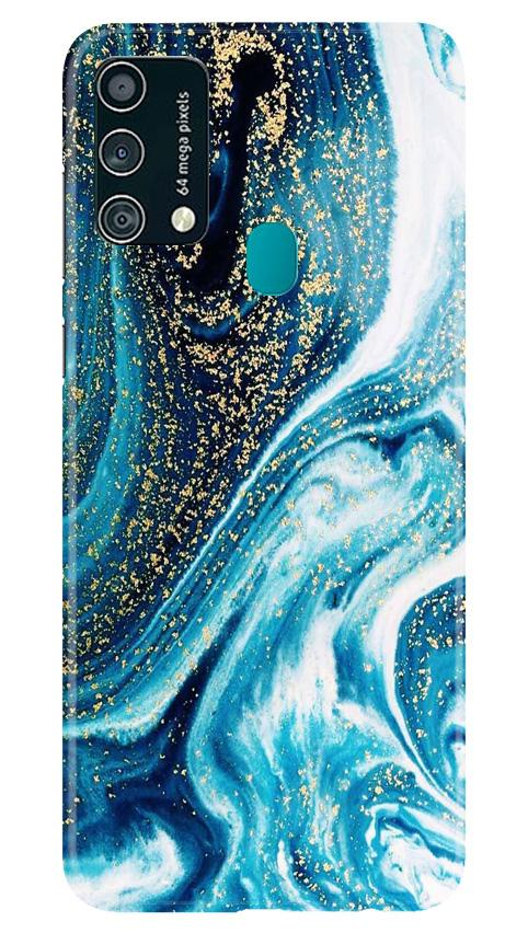 Marble Texture Mobile Back Case for Samsung Galaxy F41 (Design - 308)