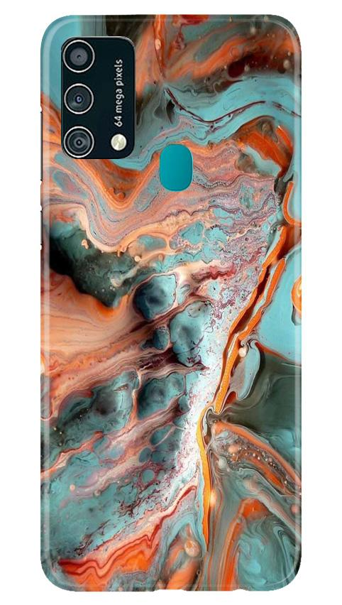 Marble Texture Mobile Back Case for Samsung Galaxy F41 (Design - 309)