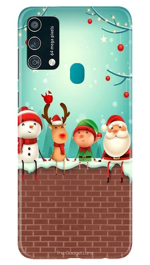 Santa Claus Mobile Back Case for Samsung Galaxy F41 (Design - 334)