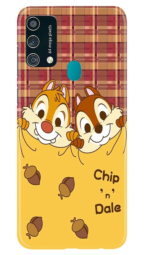 Chip n Dale Mobile Back Case for Samsung Galaxy F41 (Design - 342)