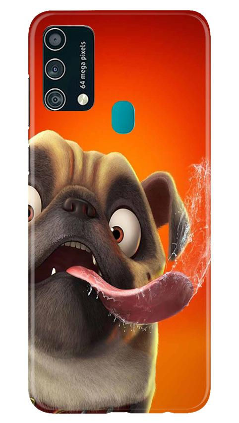 Dog Mobile Back Case for Samsung Galaxy F41 (Design - 343)