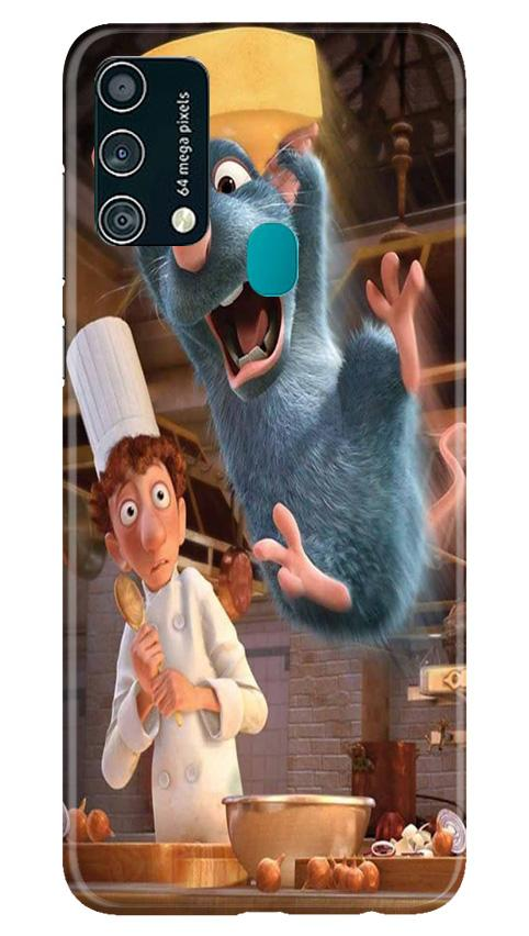 Ratatouille Mobile Back Case for Samsung Galaxy F41 (Design - 347)