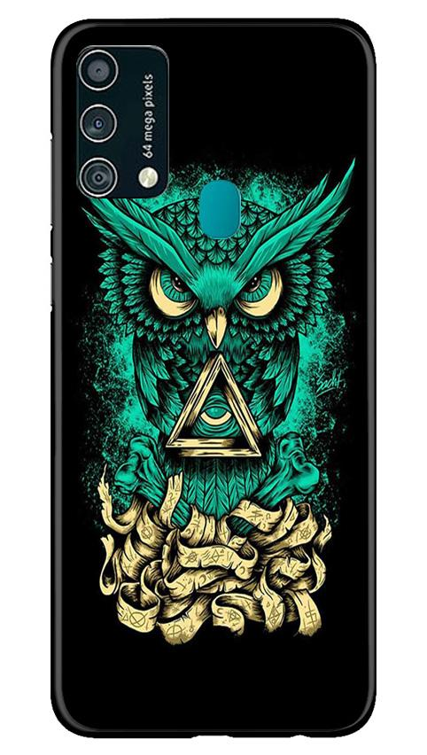 Owl Mobile Back Case for Samsung Galaxy F41 (Design - 358)